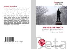 Обложка Wilhelm Liebknecht