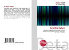 Bookcover of Achilles Huber