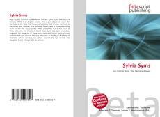 Обложка Sylvia Syms