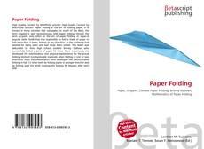 Couverture de Paper Folding