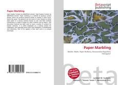 Buchcover von Paper Marbling