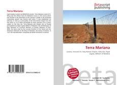 Bookcover of Terra Mariana