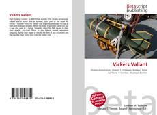 Portada del libro de Vickers Valiant