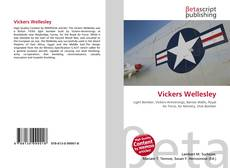 Bookcover of Vickers Wellesley