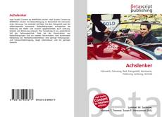 Bookcover of Achslenker