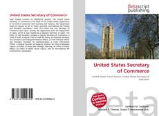 Buchcover von United States Secretary of Commerce