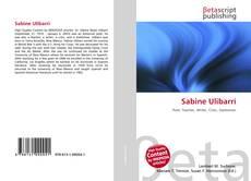 Bookcover of Sabine Ulibarrí