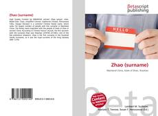 Bookcover of Zhao (surname)