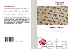 Bookcover of Yaakov Shabtai
