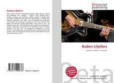 Bookcover of Ruben Liljefors
