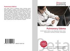 Bookcover of Pulmonary Edema