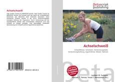 Bookcover of Achselschweiß