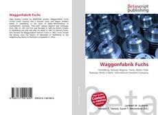 Buchcover von Waggonfabrik Fuchs