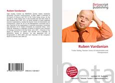 Bookcover of Ruben Vardanian