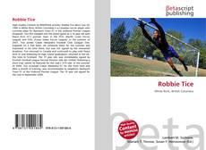 Couverture de Robbie Tice
