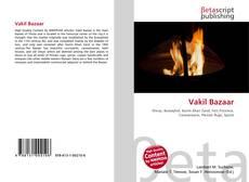 Bookcover of Vakil Bazaar