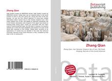 Bookcover of Zhang Qian