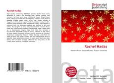 Couverture de Rachel Hadas