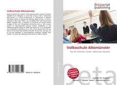 Bookcover of Volksschule Altomünster