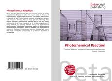 Bookcover of Photochemical Reaction