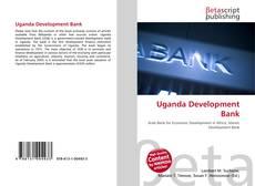 Buchcover von Uganda Development Bank