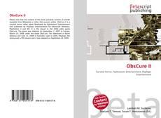 Capa do livro de ObsCure II