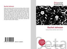 Bookcover of Rachel Johnson