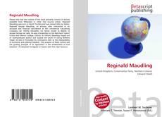 Couverture de Reginald Maudling