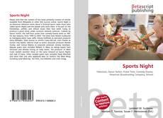 Capa do livro de Sports Night