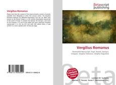 Bookcover of Vergilius Romanus