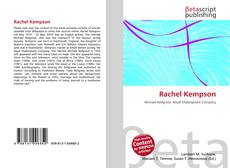 Bookcover of Rachel Kempson