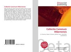 Portada del libro de Collectio Canonum Hibernensis