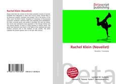 Обложка Rachel Klein (Novelist)