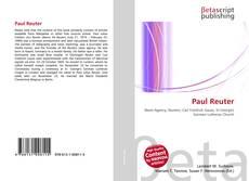 Paul Reuter的封面
