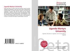 Bookcover of Uganda Martyrs University
