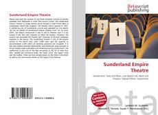 Capa do livro de Sunderland Empire Theatre