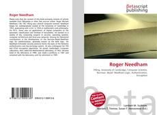 Portada del libro de Roger Needham