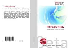 Bookcover of Peking University