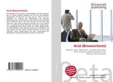 Bookcover of Acid (Browsertests)