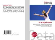Bookcover of Götzinger Höhe