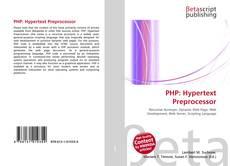 Couverture de PHP: Hypertext Preprocessor