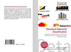 Bookcover of Standard Industrial Classification