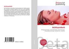 Buchcover von Achtsamkeit