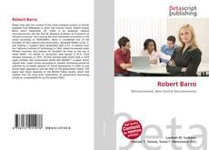 Portada del libro de Robert Barro