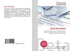 Portada del libro de Acid Test Ratio