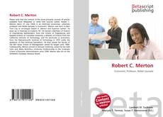 Bookcover of Robert C. Merton