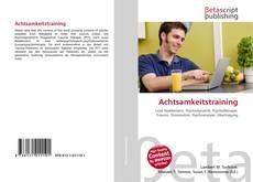 Achtsamkeitstraining kitap kapağı