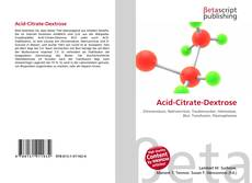 Bookcover of Acid-Citrate-Dextrose