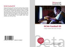 Bookcover of NCAA Football 09