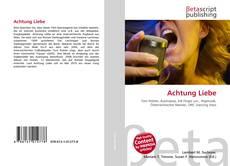Capa do livro de Achtung Liebe